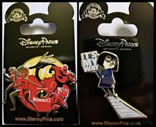 Disney Parks 2 Pin Lot Incredibles 2 + Edna It's my way or the runway