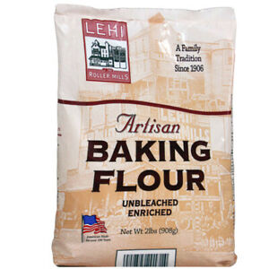 2 PACK Artisan Baking All Purpose Flour Unbleached Enriched 4 lbs. 2 x 2 lb bags