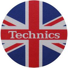 Slipmats Technics BANDIERA INGLESE / Union Jack (1 pezzo / 1 pezzo) NUOVO +