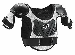 Fox Racing Roost Deflector PeeWee Titan Youth Child Chest Guard Protector ATV MX