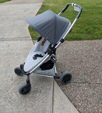 Quinny Zapp Flex Plus Stroller Graphite on Grey. Please See Description