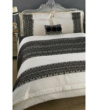 boutique flocked quality pair of pillow cases.