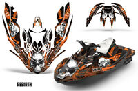 Bombardier Sea-Doo Spark 3Up Rotax Jet Ski Decal Wrap Graphics Kit 15-18 RB ORNG