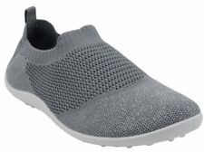 Ladies LIGHTWEIGHT BREATHABLE Slip On Trainers In GREY. Boxed. Sizes 3-8 x