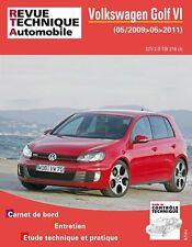 Livre Revue technique Volkswagen Golf VI 2.0 - RTA Hs009
