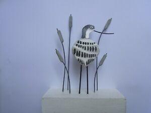 Avocet Bird Decoration Wading Birds Shore Birds  Ornithology POST Nautical  New