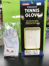 Womens Tennis Glove Left Medium Half Finger