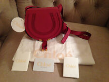 CHLOE MARCIE SMALL MINI Satchel Crossbody, Shoulder bag DREAMY PINK - CUTE - NWT