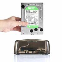 Hard Drive Docking Station Hub USB 3.0 IDE SATA DUAL Slots Copy External HDD USA
