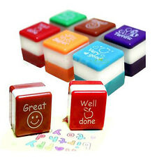 Teachers Stamper Self Reward Inking Motivation Sticker Praise School Stamp