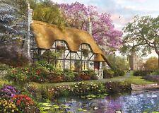 NUOVO! Falcon De Luxe i giardinieri Cottage 1000 pezzo nostalgico Puzzle