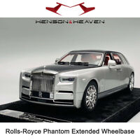 Limited HH 1:18 Scale Rolls-Royce Phantom Extended Wheelbase VIII 8 Car Model