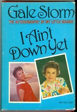 Gale Storm of My Little Margie I Ain't Down Yet The Autobiography HC book Libby