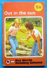 Out In The Sun vintage Ladybird book 5b Key Words Reading Scheme learning 1979.