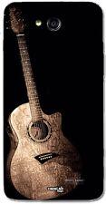 CUSTODIA COVER CASE GUITAR CHITARRA MUSICA NOTE STRUMENTO PER LG L90 D405N