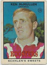 1968 B Nrl Rugby League Scanlens (15) Ken McMULLEN Roosters ::