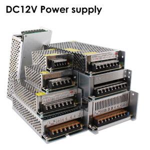 DC 12V 5A to 50A Amp 110V 220V Power Supply LED Strip Light 12V - AC 110 - 220