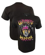 Authentic WWE Neon Ultimate Warrior Shirt Wrestling Small Medium Large XL XXL