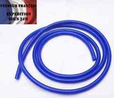Durite Silicone souple 10 mm intérieur, SC SPORT, Bleu, VENDEUR FRANCAIS