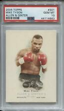 Mike Tyson 2006 Topps Allen and Ginter PSA 10 Gem Mint