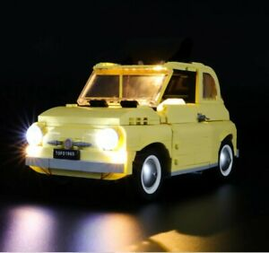 LIGHTLING LIGHT UP KIT FOR LEGO 10271 FIAT 500  + USB AA POWER BANK NEW a30