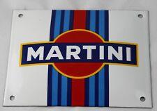 Martini - 16x20 cm - Emailschild - Schild - Türschild - TOP - Emaille Schild