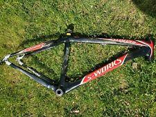 Specialized S-Works Stumpjumper Carbon HT Mountain Bike Medium Frame 26 27.5 MTB