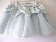 Gymboree Snowflake Unicorn Tutu Size 2T Blue Tulle Skirt Fairy Wishes New Twins
