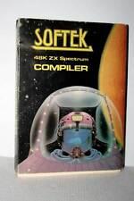 SOFTEK COMPILER SOFTWARE USATO OTTIMO ZX SPECTRUM EDIZIONE INGLESE FR1 51998