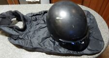 HJC Motorcycle Helmet XL With Zip In Ear Muffs and a Neck Bib