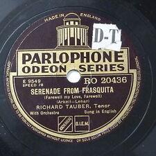 78rpm RICHARD TAUBER serenade from frasquita / my hero