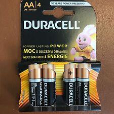 AA Batterie Alcaline Duracell mn1500/lr6-Confezione da 4 Batterie