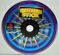 Irritating Stick (Sony PlayStation 1, 1999) PS1 PSOne PSX PS2 Video Game