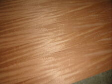 CURLY MAHOGANY 4' X 8'  PAPERBACKED VENEER SHEET
