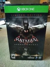 New Batman: Arkham Knight - Limited Collectors Edition XBOX ONE SteelBook Statue