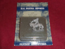 Ral Partha Import Mounted Monk W/ Staff FAC7 sealed on card
