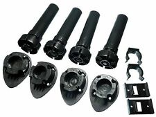 NEW 25 SETS Of 4 Adjustable Cabinet Cupboard Support Legs With Fittings