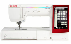 Janome Memory Craft 14000 Sewing Embroidery and Quilting Machine + Warranty