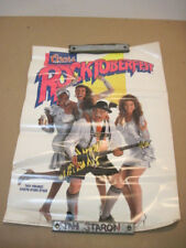 SEXY GIRL LADY PIN UP POSTER 1988 COORS LIGHT BEER ROCKTOBERFEST MANCAVE BARWARE