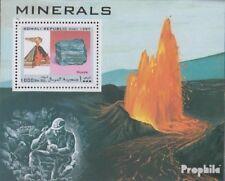 Somali Republic Block1997M postfrisch 1997 Mineralien