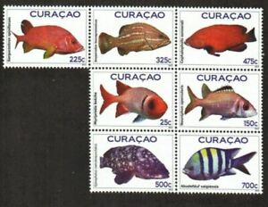 Curacao Stamp - Fish Stamp - NH