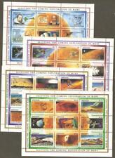 Grenada Space Astronomy Face On Mars Telescope Galileo 4 Perf Minisheets