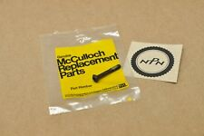 NOS New McCulloch Pro Mac 10-10 700 Chain Saw 8-32 x 1.12 Oval Screw 216623