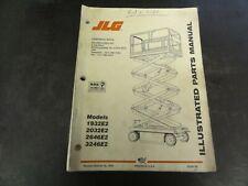 JLG 1932E2 2032E2 2646E2 3246E Scissor Lift Illustrated Parts Manual  3120738