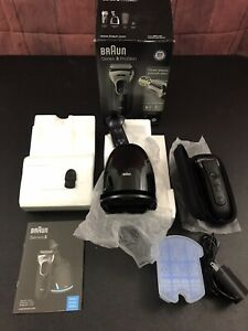 Braun Series 3 Proskin 3090cc Shaver Cleaning Rechargeable Station