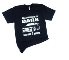 All I care about is car automotive mechanic mens small tshirt