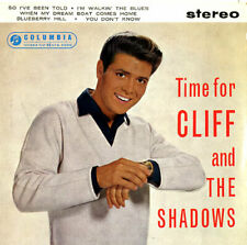 "Time For Cliff And The Shadows E.P... Cliff Richard UK 7""  record"