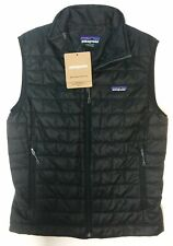 New Patagonia Nano Puff Sweater Vest Mens Size S Navy Blue Primaloft Down