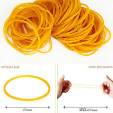 500pcs/pack High-Quality Rubber Bands Hair Band Loop Office School Supplies 45mm
