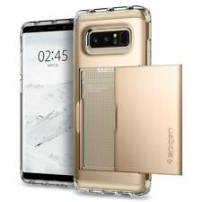 Spigen Galaxy Note 8 Case Crystal Wallet Champagne Gold